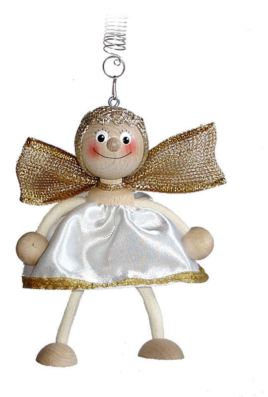 White Angel Handcrafted Wooden Jumpie