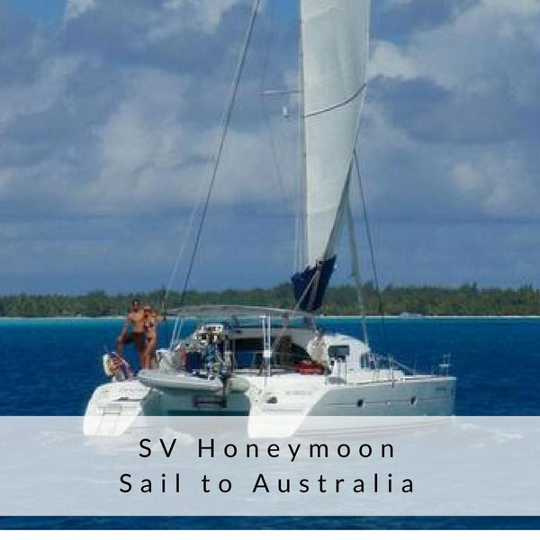 SV Honeymoon, Sail to Australia