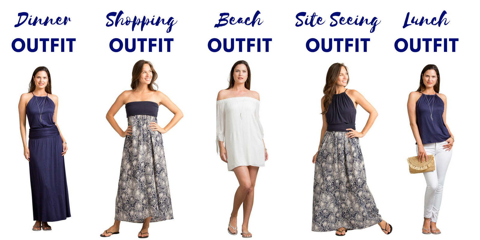 Santa Barbara Collection Outfits