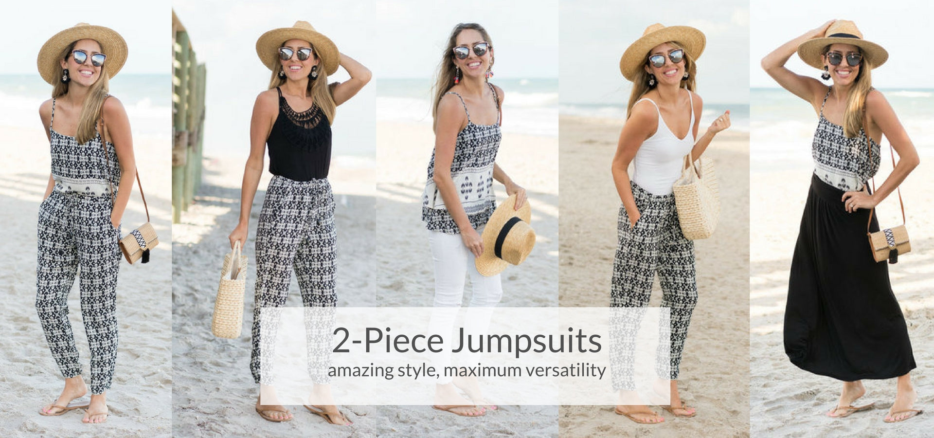 Vacay 2-Piece Jumpsuits and Rompers