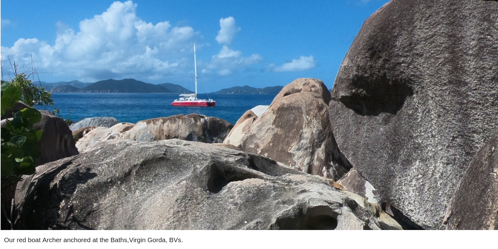The Baths, Virgin Gorda, BVIs