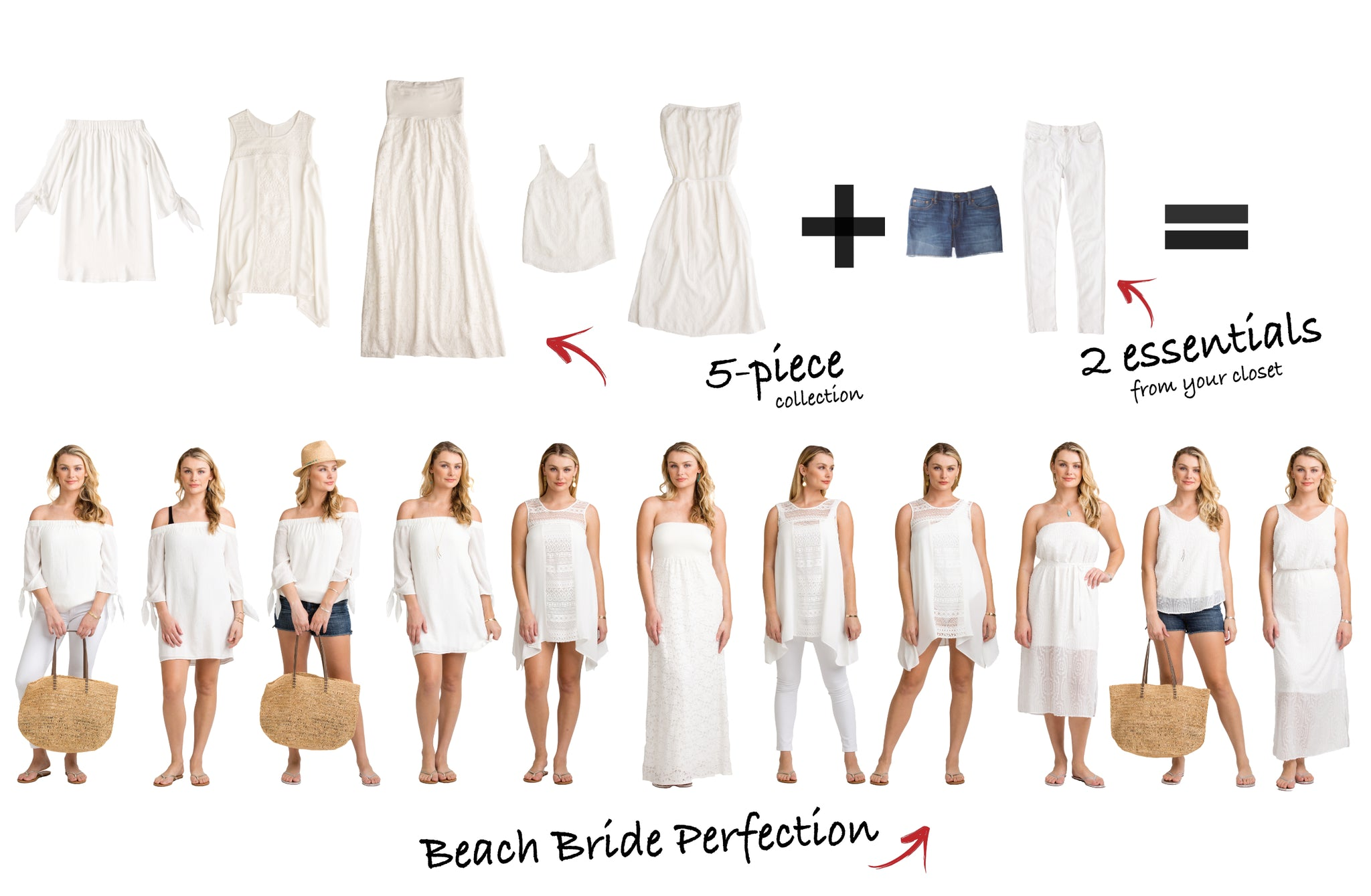 Beach Bride Collection equals bridal perfection