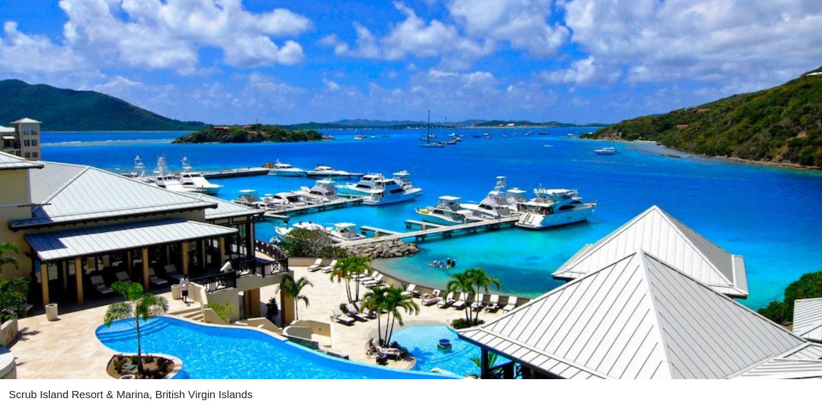 Scrub Island Resort and Marina POOL