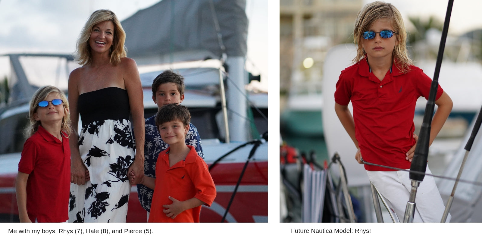 Vacay Founder Elizabeth Hynes and her sons