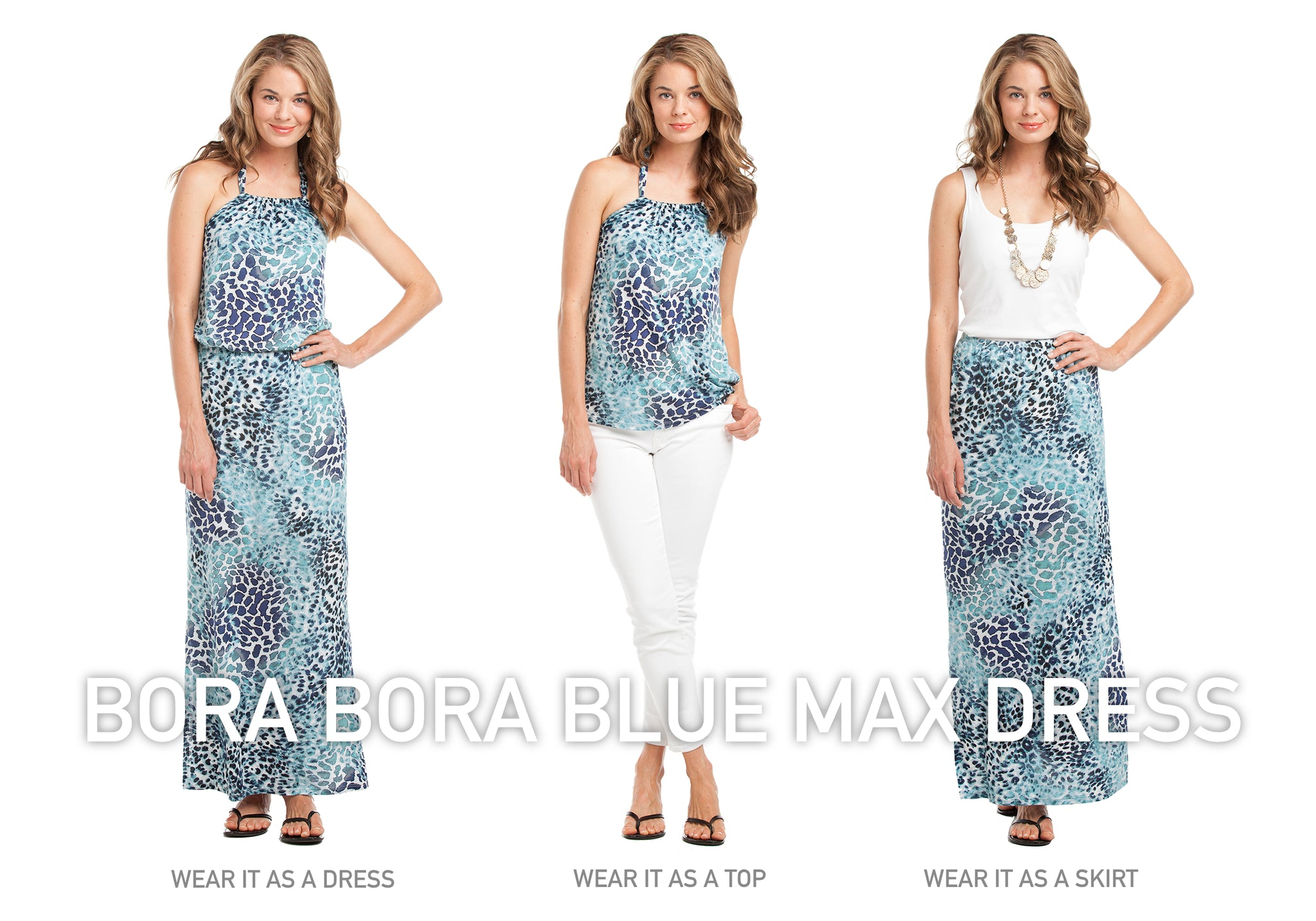 Vacay Bora Bora Maxi Dress wear three ways