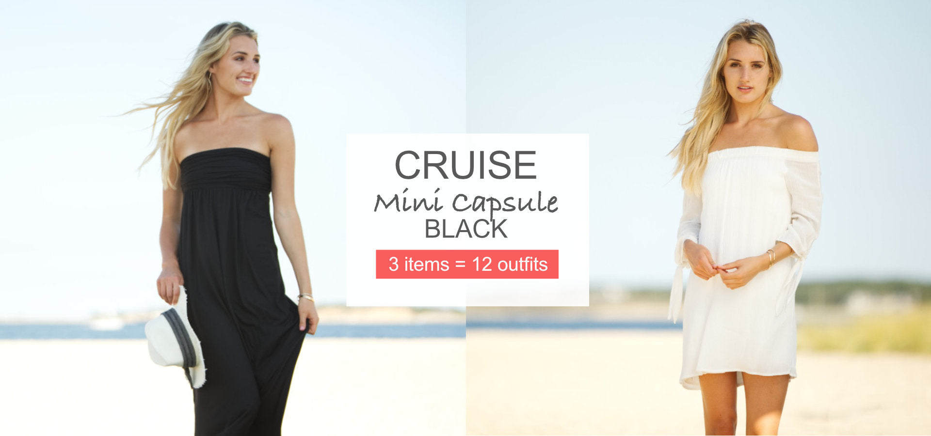 Vacay Cruise Mini Capsule Black