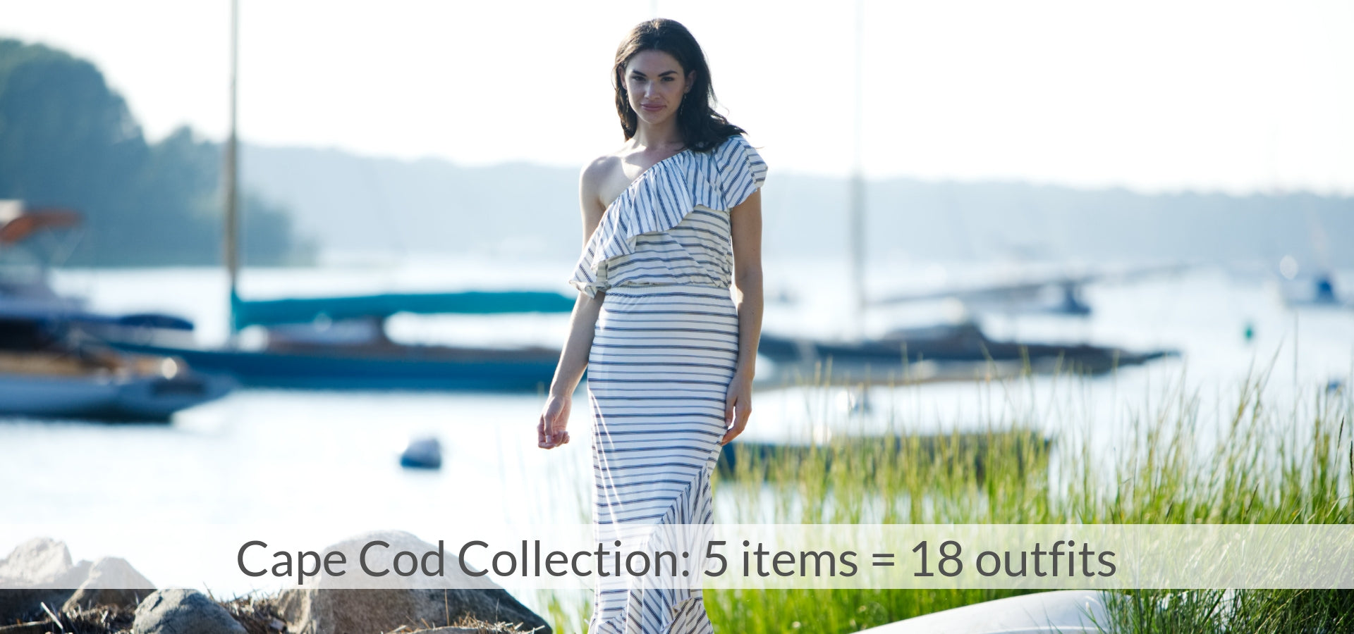 Cape Cod Collection: 5 items = 18 outfits