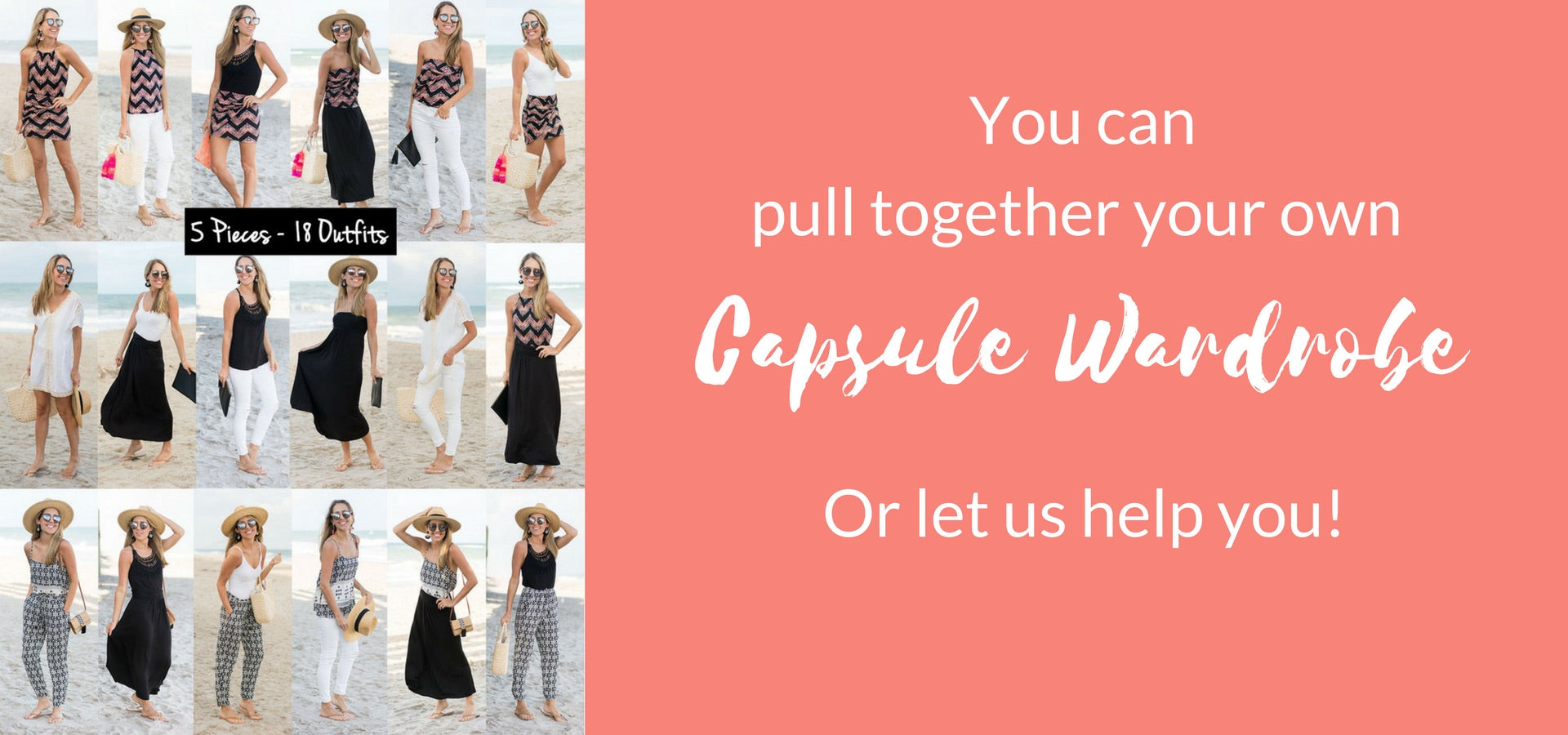 Vacay Capsule Wardrobe Creation