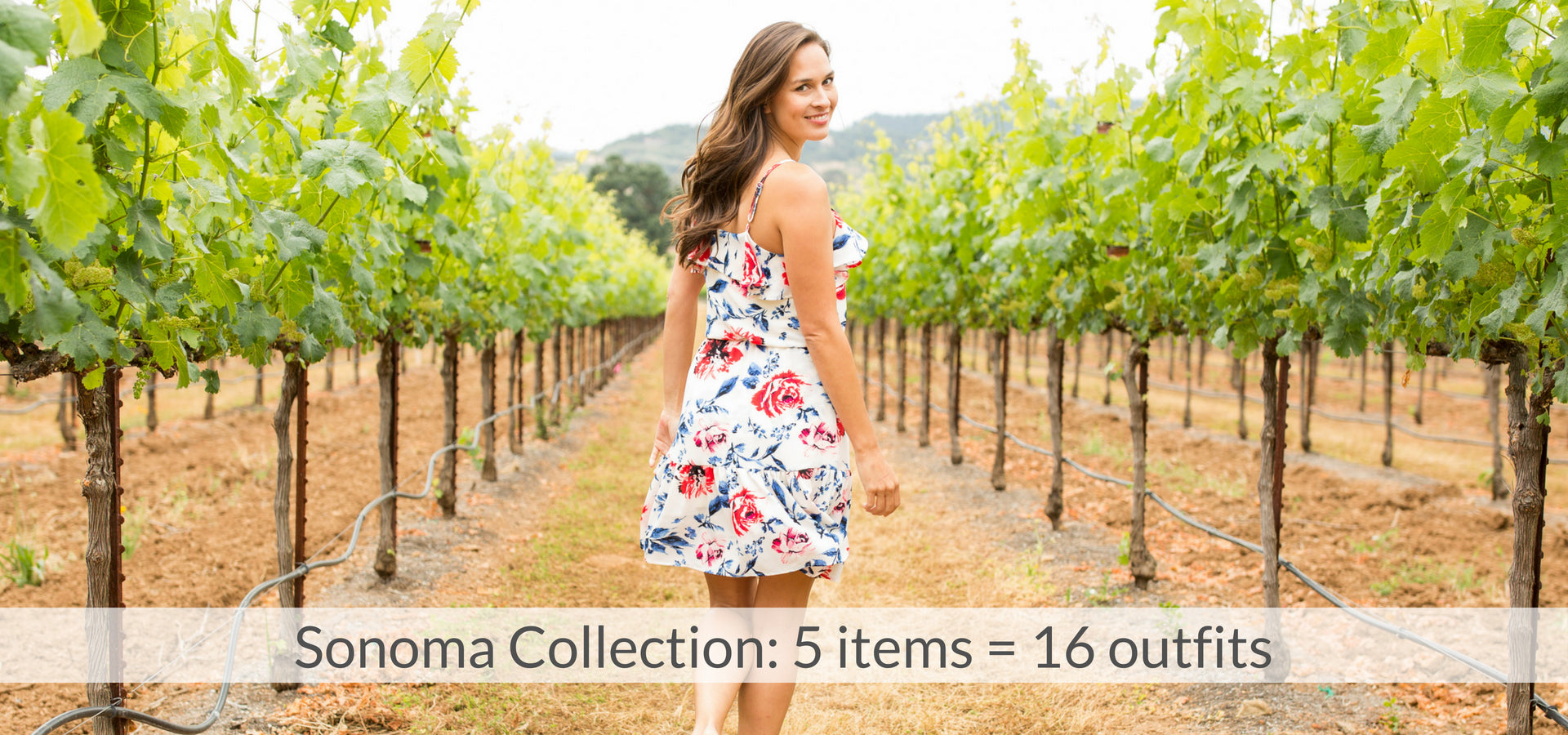 Sonoma Collection: 5 items = 16 outfits