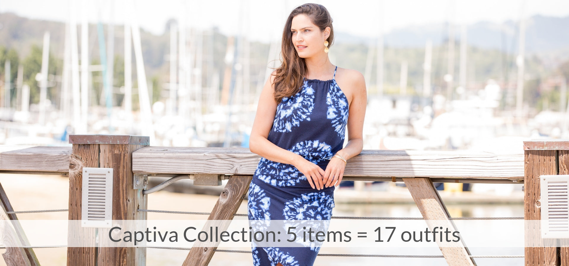 Captiva Collection: 5 items = 17 outfits
