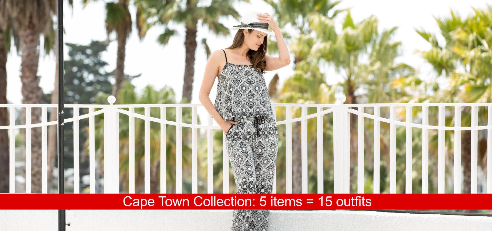 Cape Town Collection: 5 items = 15 outfits