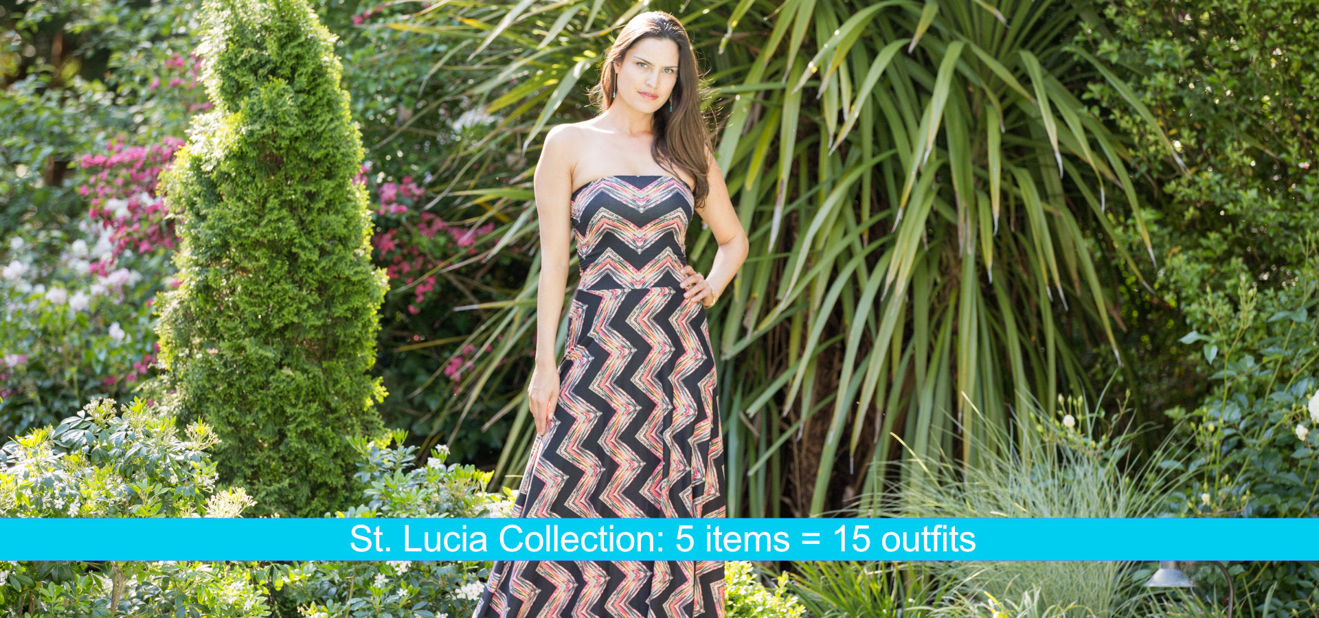 St. Lucia Collection: 5 items = 16 outfits
