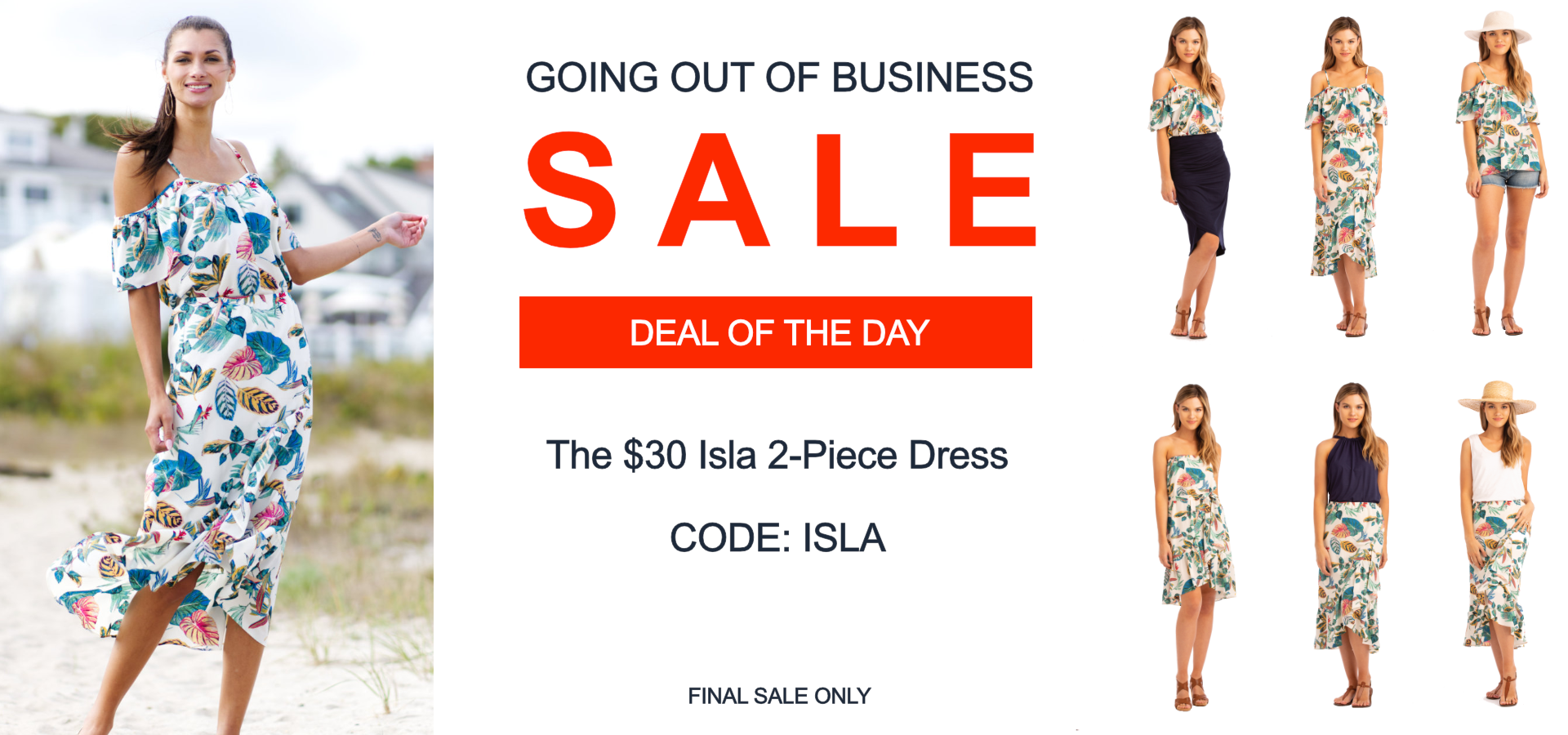 Vacay Deal of the Day Isla Dress