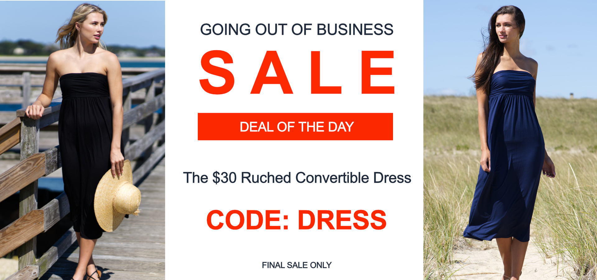 Vacay Deal of the Day Ruched Dress