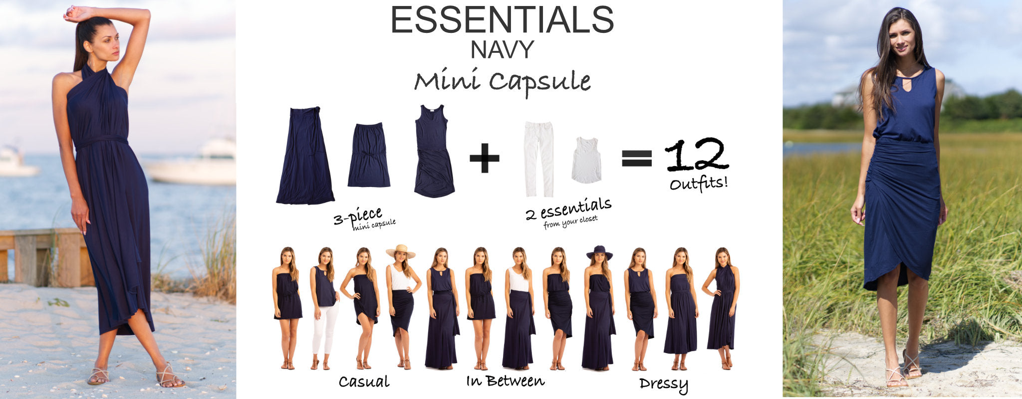 Essentials Mini Capsule Navy