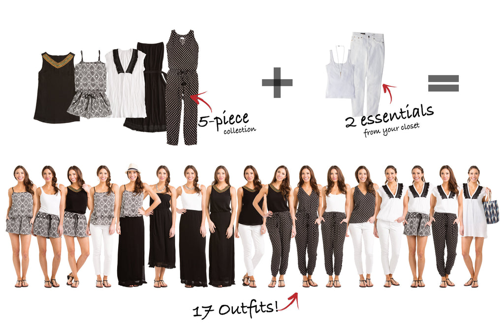 Gold Coast Collection Creates 17 Outfits