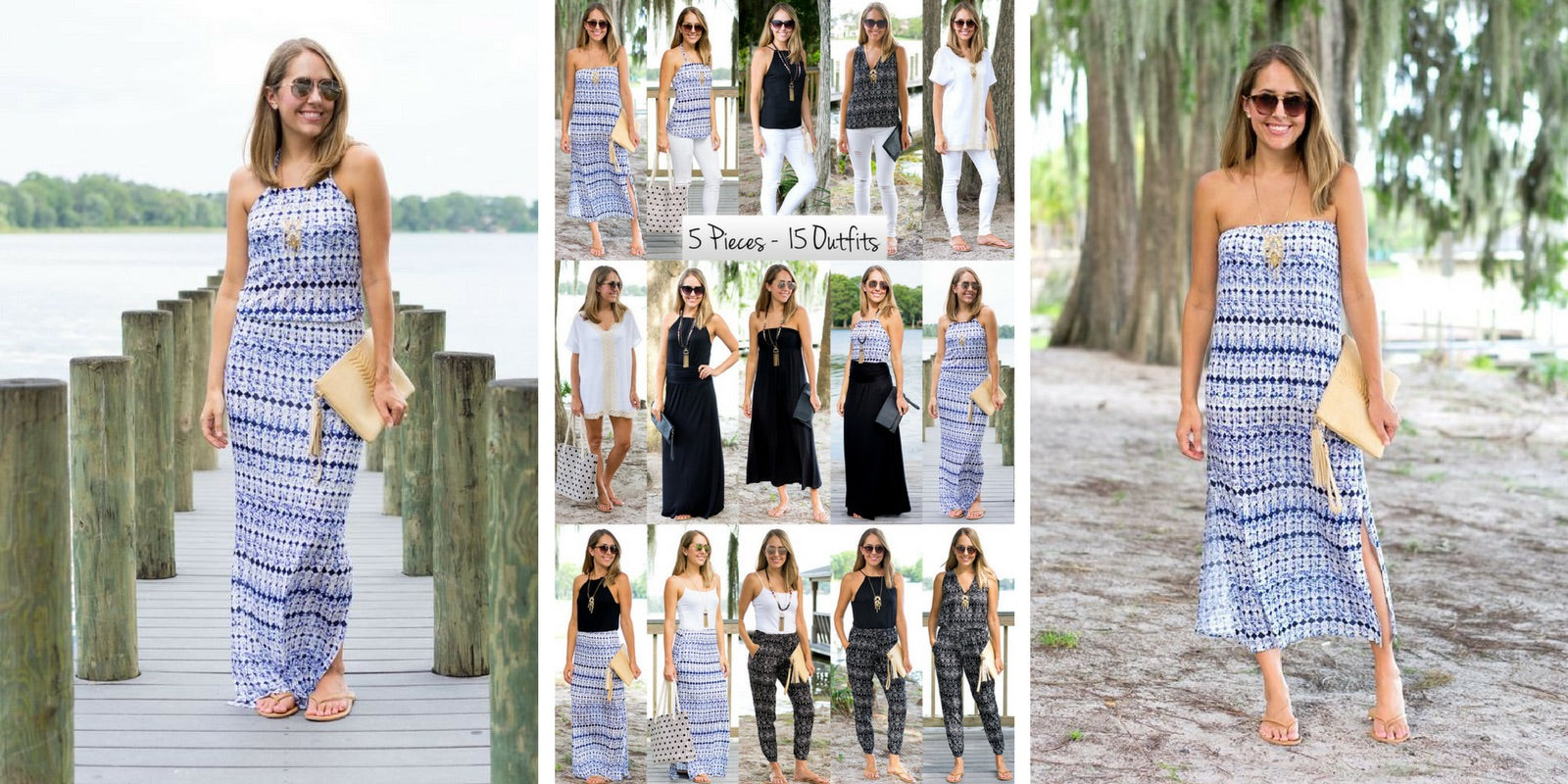 J's Everyday Fashion wearing Vacay Tahiti Collection: 5 items = 15 outfits