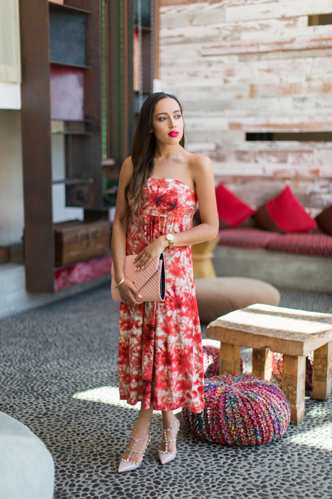 Elizabeth of Keene Sense of Style in Vacay Cabo Dress
