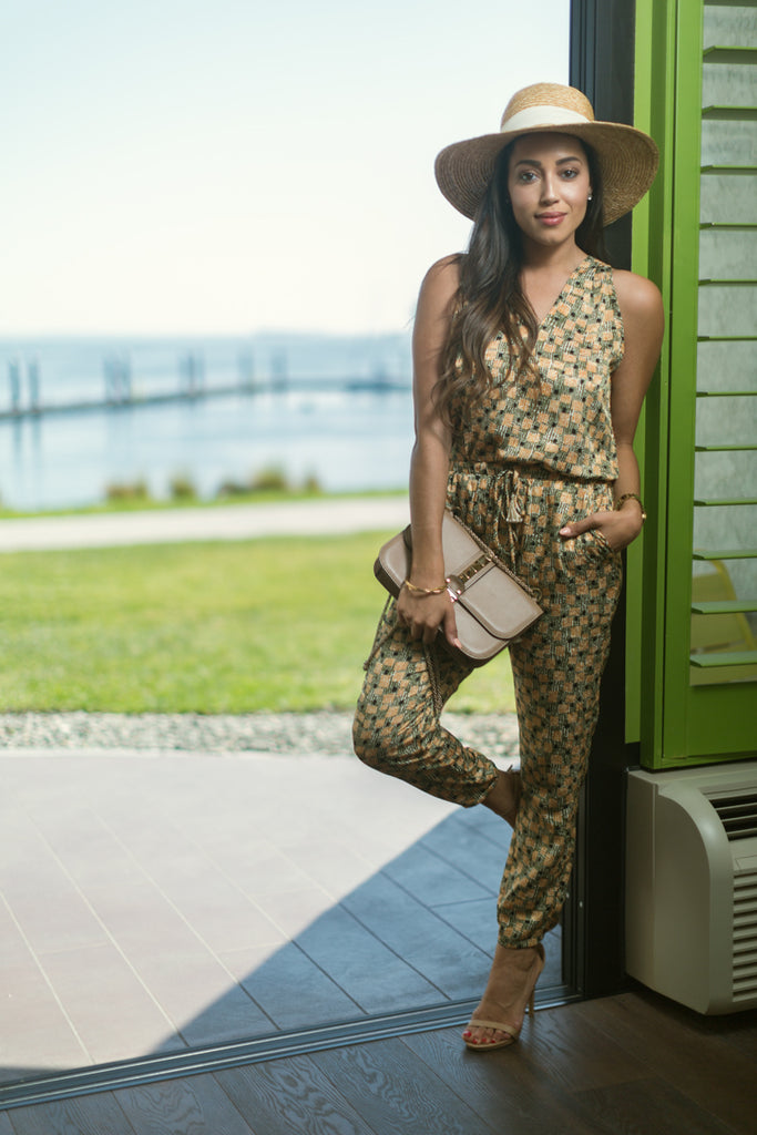 Elizabeth of A Keene Sense of Style in VacayStyle Cabo Jumpsuit