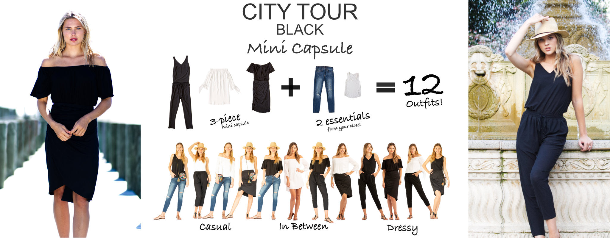City Tour Mini Capsule Black