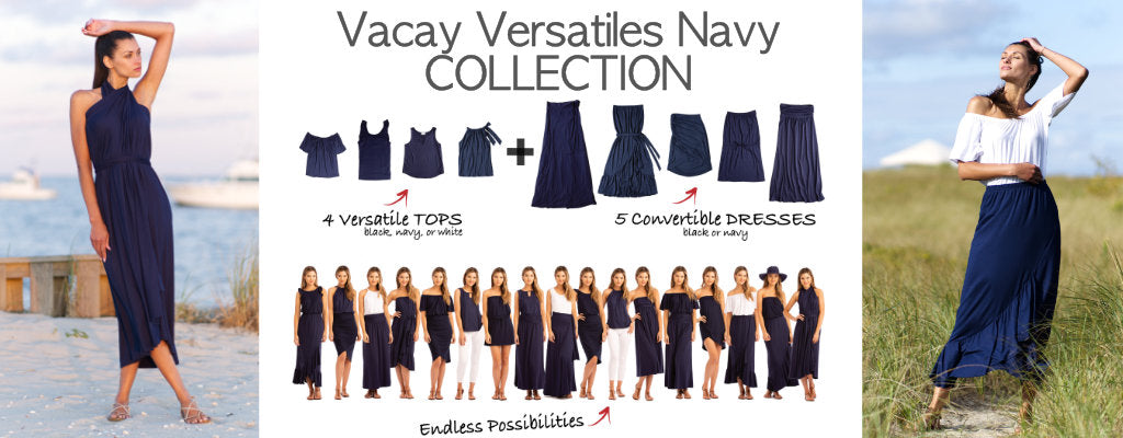 Vacay Versatiles Navy Collection