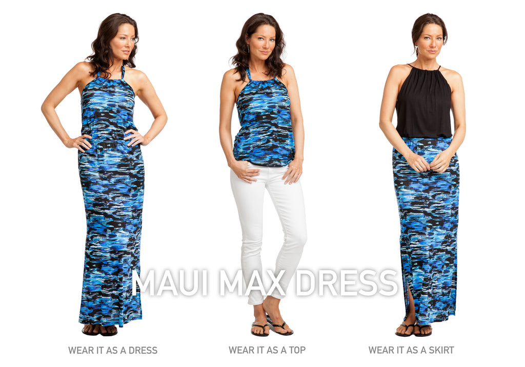 Vacay Maui 2-Piece Dress shown 3 ways
