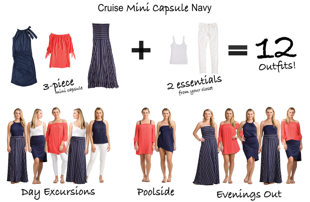 Vacay Cruise Mini Capsule Navy