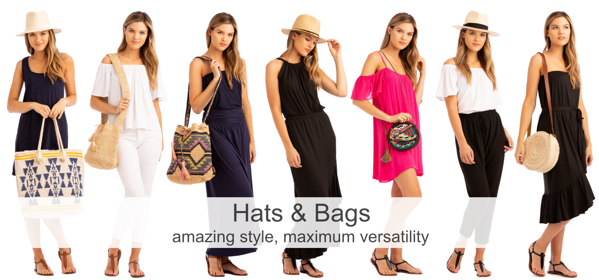 Vacay Hats and Bags