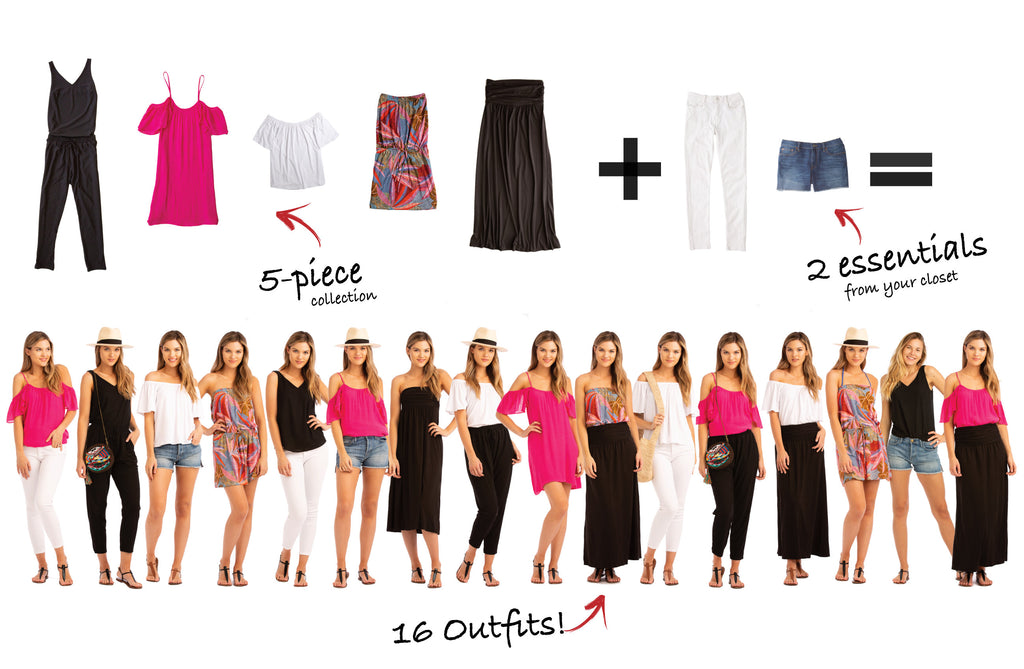 San Juan Collection: 5 items 16 outfits