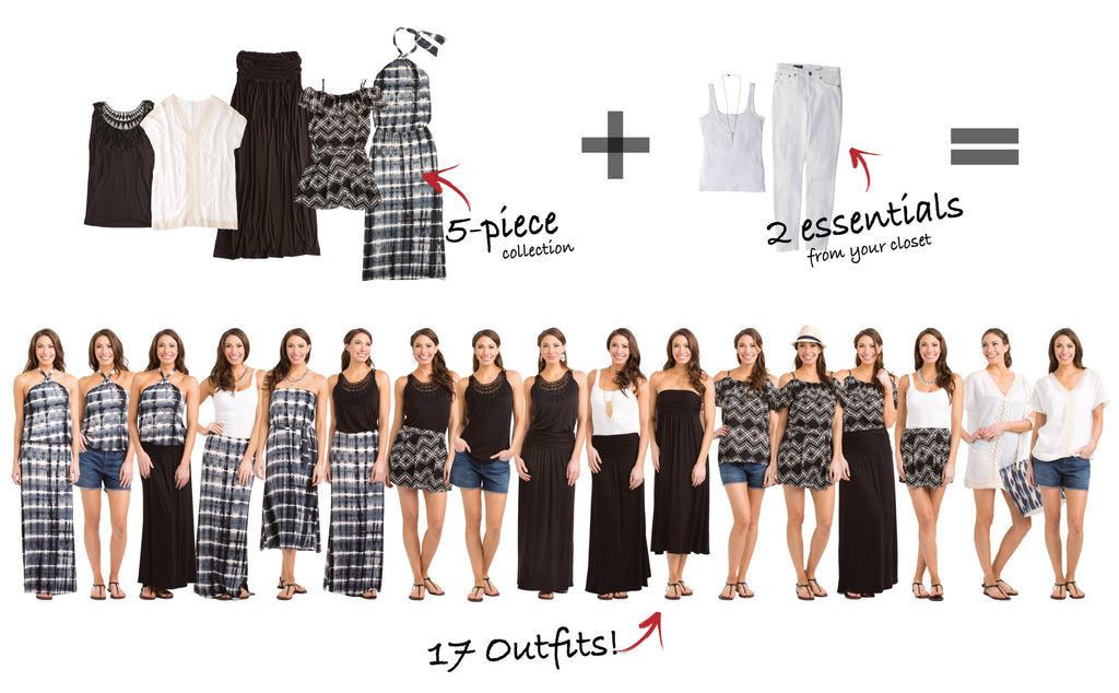 Seychelles Collection Creates 17 Outfits