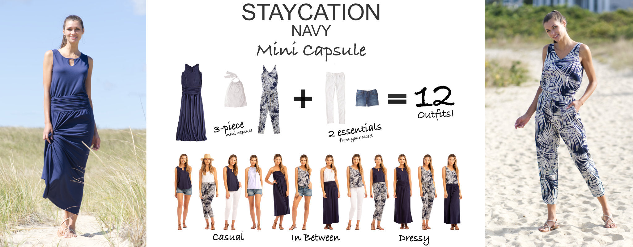 Staycation Mini Capsule navy