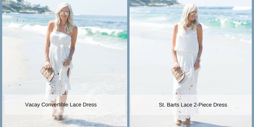 McKenna Bleu in Vacay Lace Convertible Dress