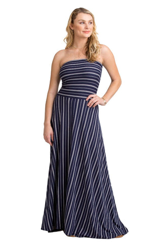 VV Convertible Twist Skirt Navy