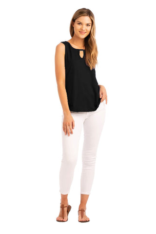 VV Keyhole Top Black