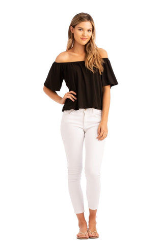 VV Off The Shoulder Top White