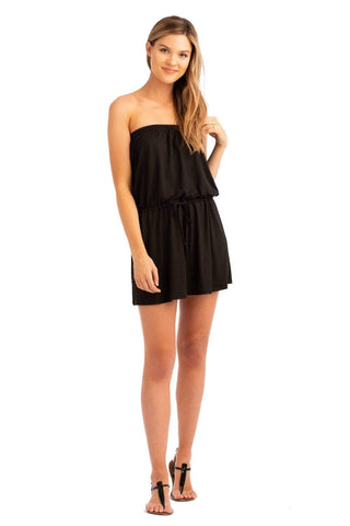 VV Strapless Mini Black