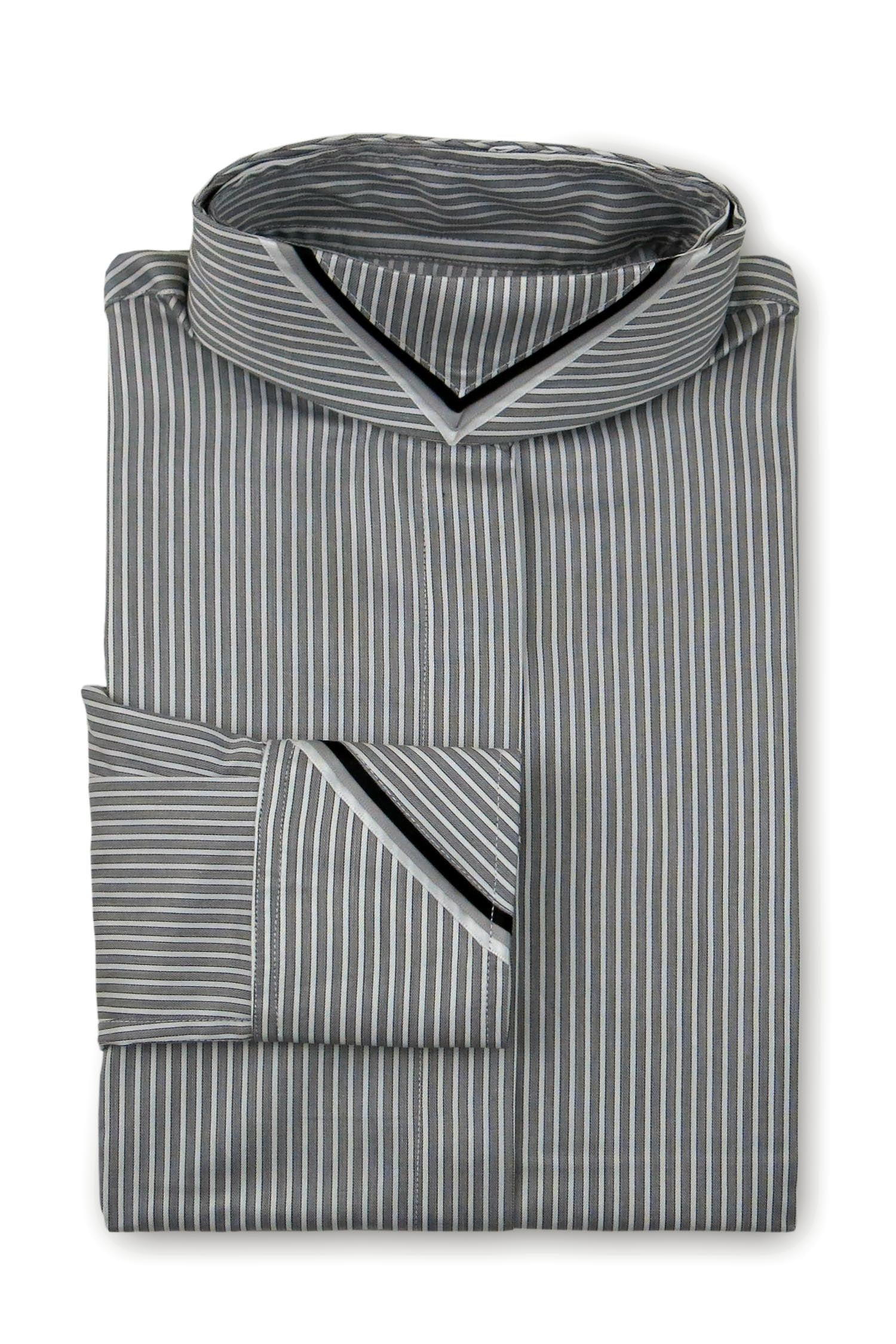 Grey Stripe - Black & White