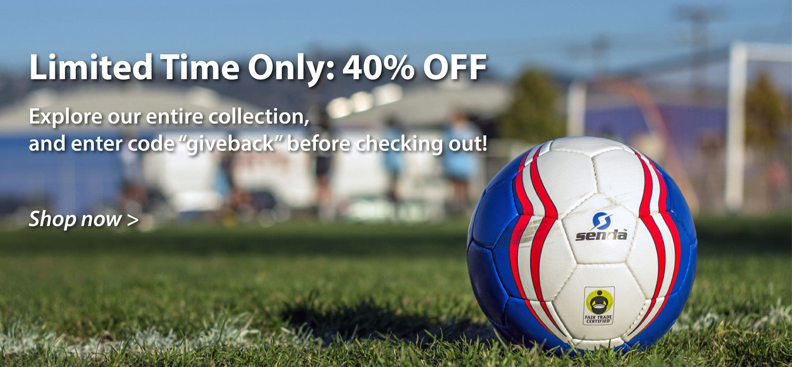 Limited Time Only: 40% OFF