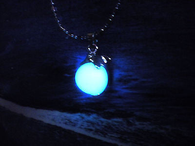 Dolphin Necklace - Glow in the Dark Necklace - Magic Dolphin - Fantasy Jewelry - Soul Shards