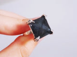 Raven Ring – Glow in the dark Raven Claw Ring – Nevermore – Poem Tribute - Gothic Jewelry - Soul Shards