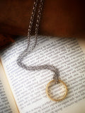 The One Ring - Glow in the Dark - Glow in the Dark Ring - Frodo Necklace - Bilbo Baggins Ring - Soul Shards