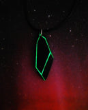 Remnant Tech Pendant – Glow in the dark Andromeda Pendant – Futuristic Jewelry – Alien Tech - Soul Shards
