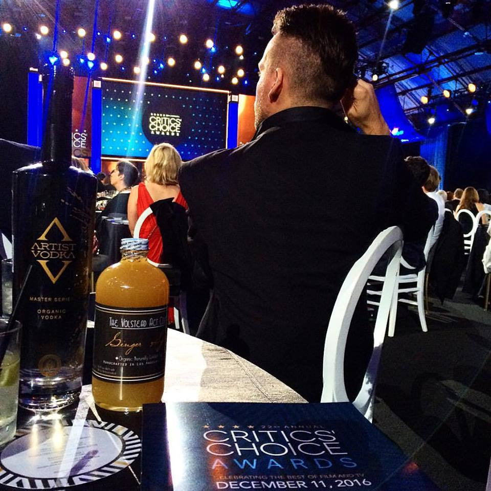 Critics Choice Awards 2016 Specialty Cocktail - The Volstead Act Co Organic Moscow Mule
