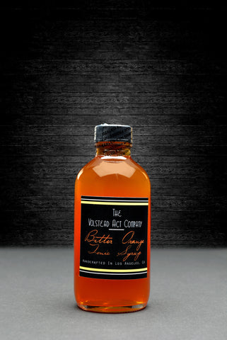 Bitter Orange Naturally Red Peruvian Tonic Syrup 4oz