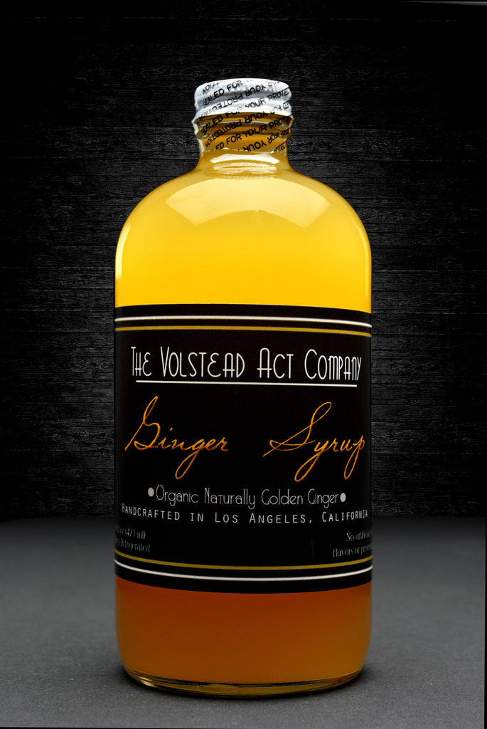 Organic Ginger Syrup - 16oz