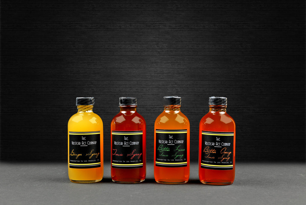 The Volstead Syrups Sample Collection 4oz