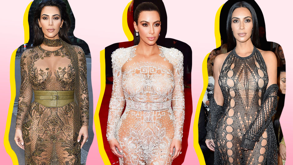 A Comprehensive Guide to Kim Kardashian's 15 Most Naked Looks