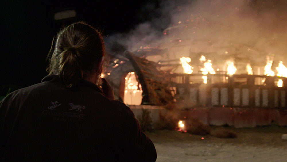 "Special effects supervisor Sam Conway talks creating ""chaos & mayhem"" on Game of Thrones."