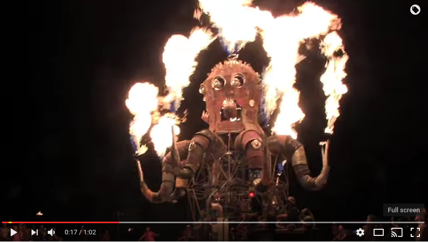 Burning Man 2011 - Steampunk Octopus