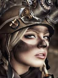 Use Steampunk Goggles and Makeup for an Incredible Steampunk Image!